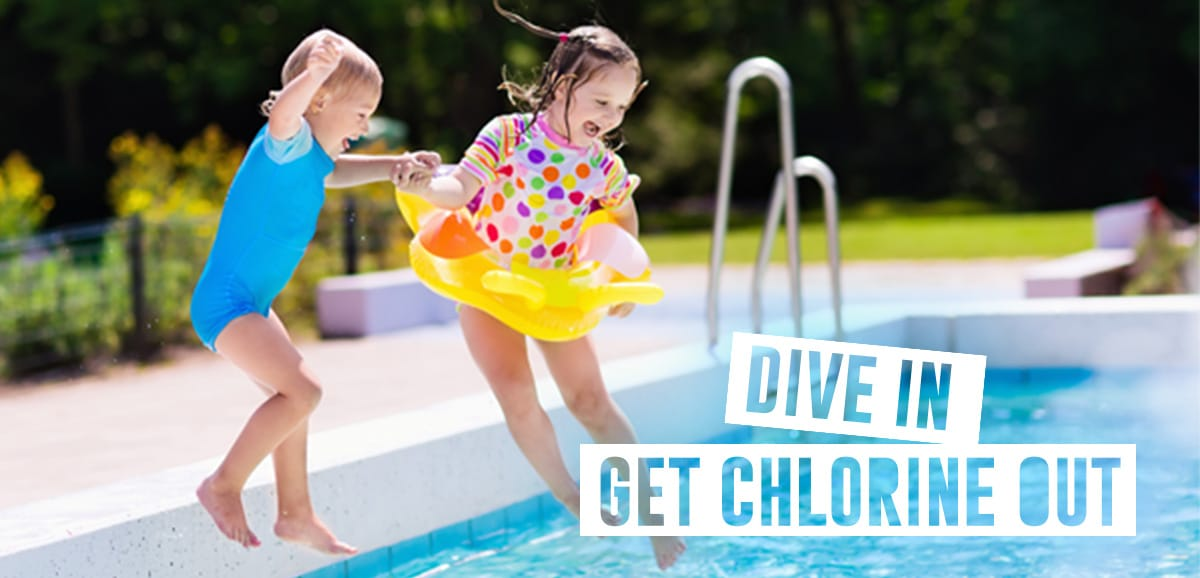 Dive in, get chlorine out
