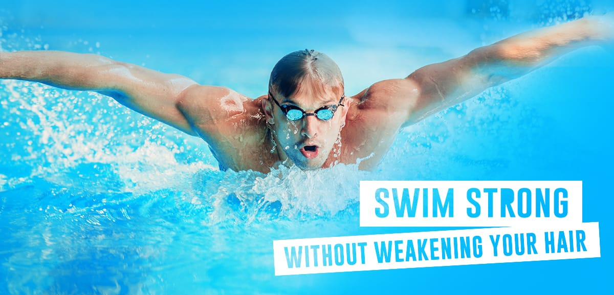 Swim strong, without weakening your hair